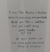 Skene_I sing the National Anthem kopia